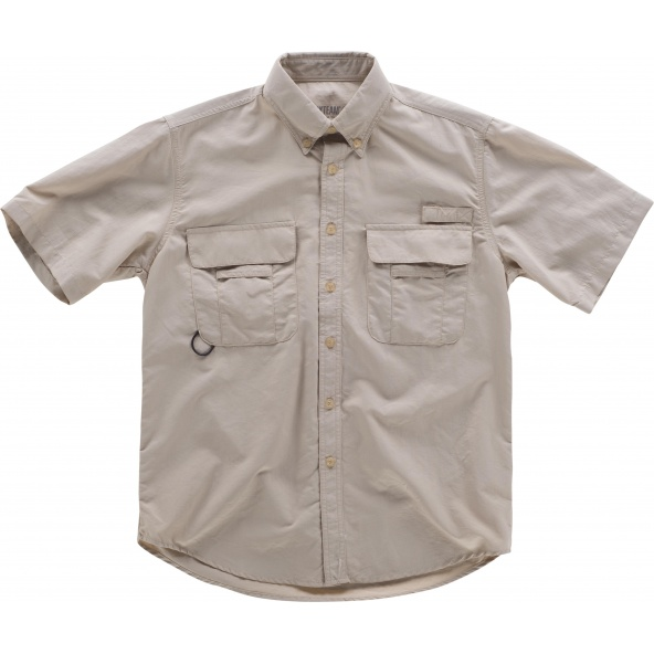 Comprar Camisa safari manga corta B8510 Beige online bataro 1