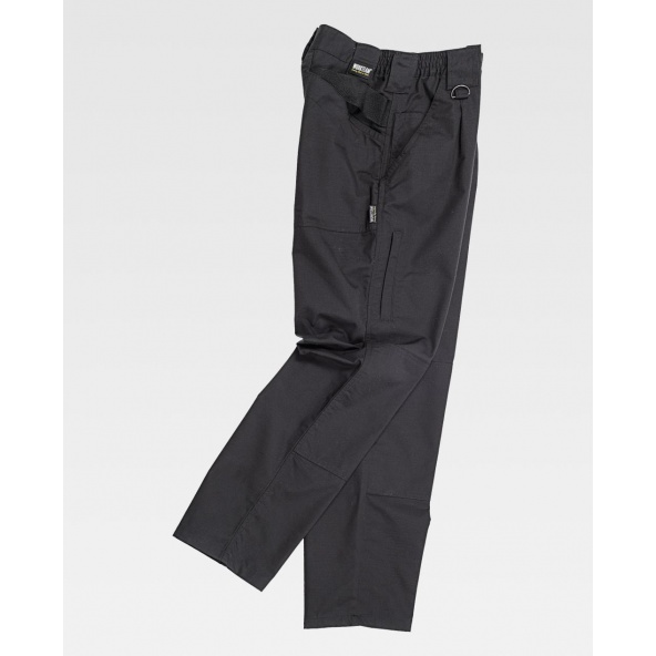 Comprar Pantalón antiespinos negro C4015 Negro online bataro