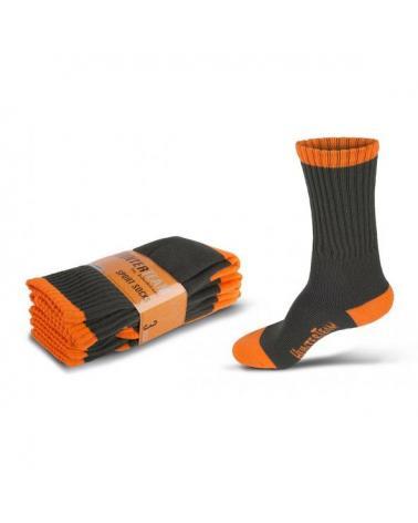 Comprar Calcetines de caza Pack 3 pares Verde Caza+Naranja AV online bataro delamte