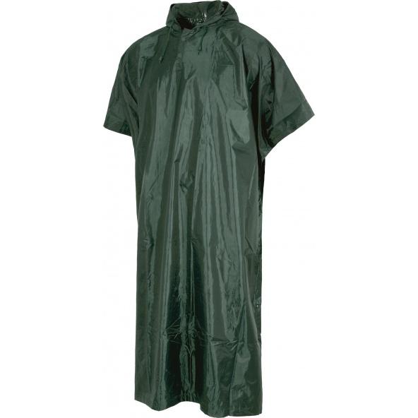 Comprar Poncho de caza impermeable S2005 Verde Oscuro online bataro