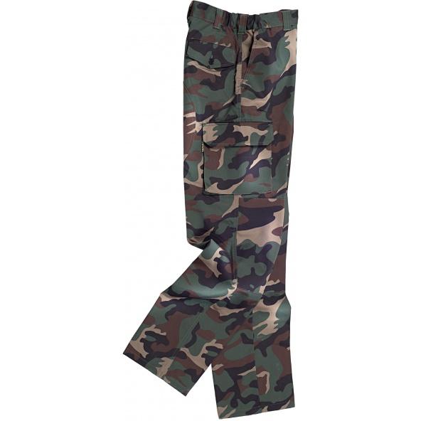 Comprar Pantalón de camuflaje multibolsillos S3350 Camuflaje online bataro