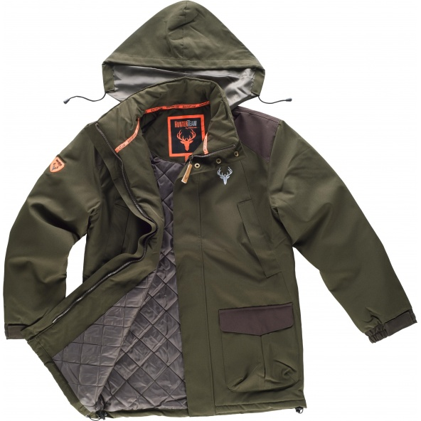 Comprar Parka de caza impermeable S8230 (Calcetines de regalo) Verde Caza/Marron online bataro 1