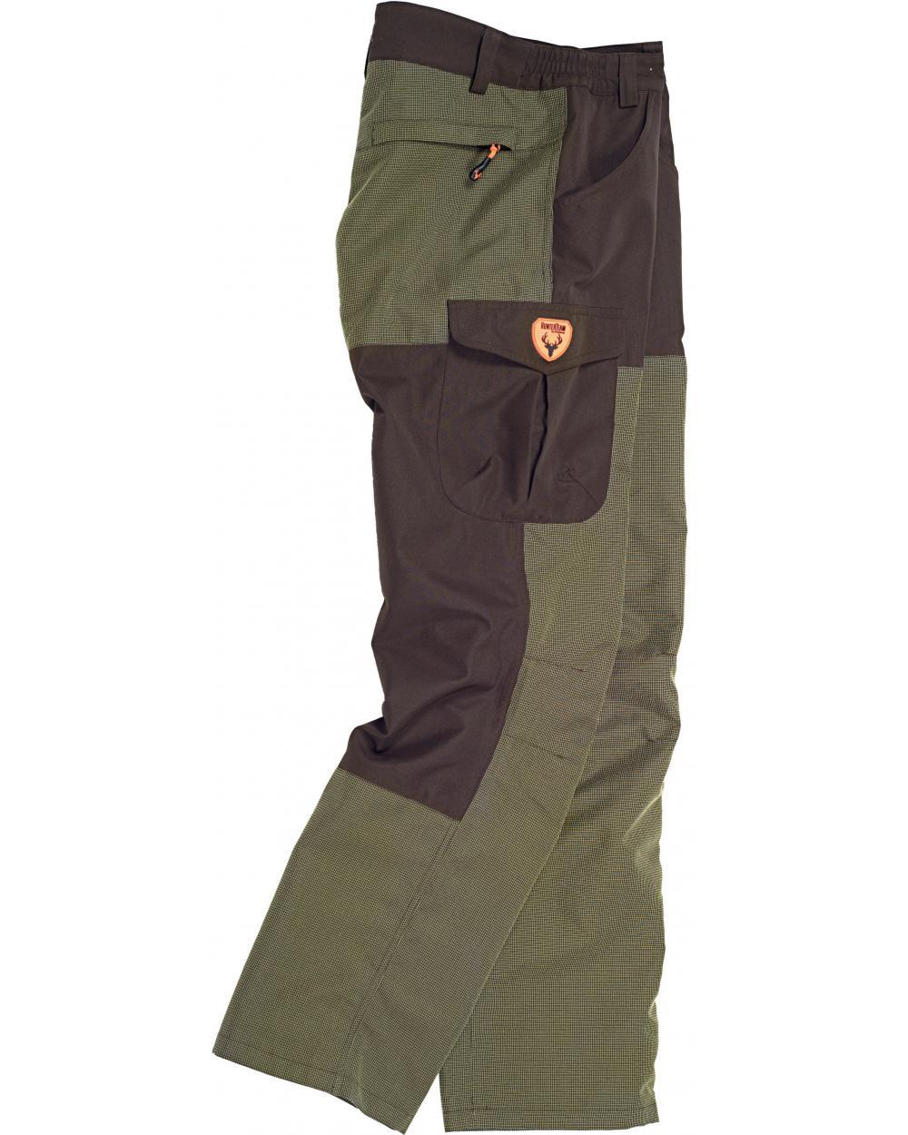 Comprar Pantalon de caza antiespinos S8310 (Cinturón de regalo) Verde Caza/Marron online bataro