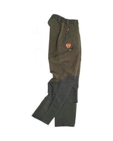 Comprar Pantalon de caza impermeable S8320 Verde Oliva/Verde Bosque online bataro