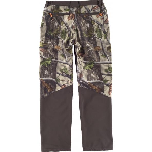 Comprar Pantalon Workshell de camuflaje S8365 Camuflaje Bosque Verde+Marrón online bataro detrás