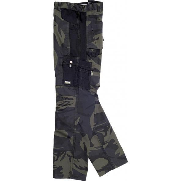 Comprar Pantalón de camuflaje S8515 Camuflage Gris+Negro online bataro
