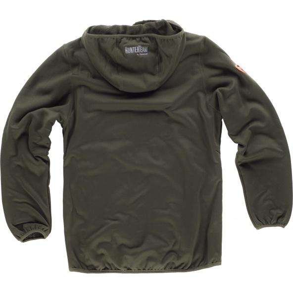 Comprar Chaqueta de camuflaje con capucha S8550 Verde Caza+Camuflage Marron online bataro detrás