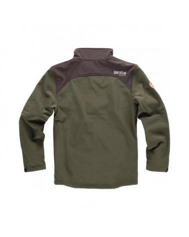 Comprar Chaqueta de caza S8600 Verde Caza/Marron online bataro detrás