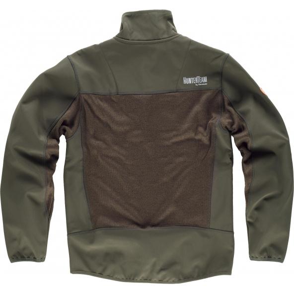 Comprar Chaqueta de caza S8650 Verde Caza/Marron online bataro detrás