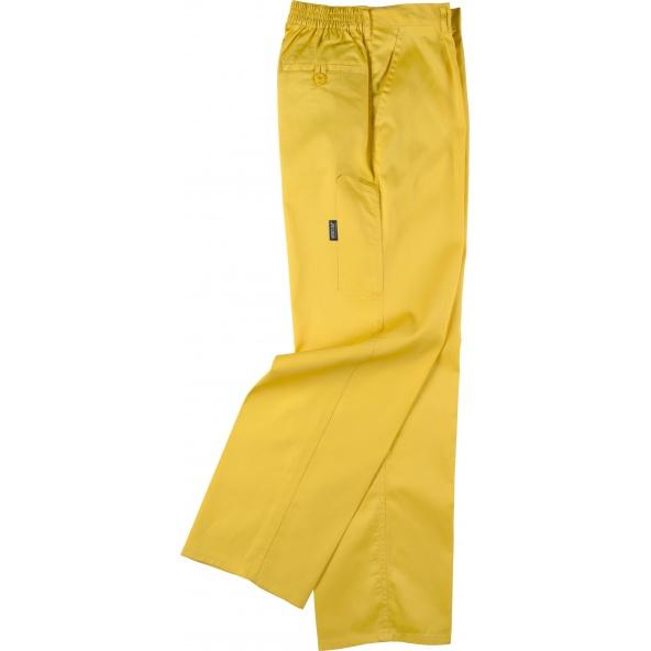Comprar Pantalon de trabajo basico B1402 Amarillo workteam barato