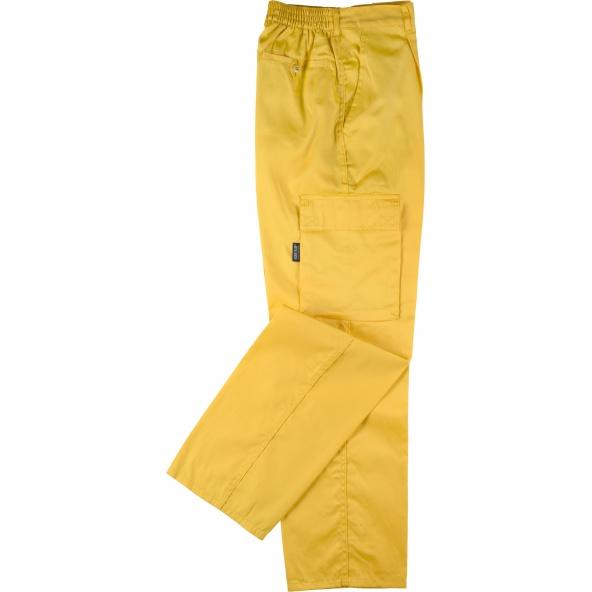 Comprar Pantalon de trabajo basico B1403 Amarillo workteam barato