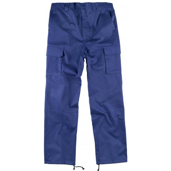 Comprar Pantalon de trabajo con refuerzos B1416 Azulina workteam delante