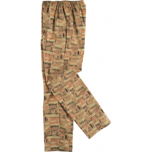 Comprar Pantalon de cocinero antimanchas B1503 Estampado workteam barato