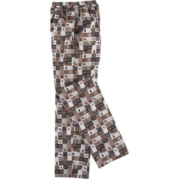 Comprar Pantalon de cocinero antimanchas B1509 Estampado workteam barato