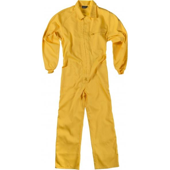 Comprar Buzo de trabajo basico B2000 Amarillo workteam delante