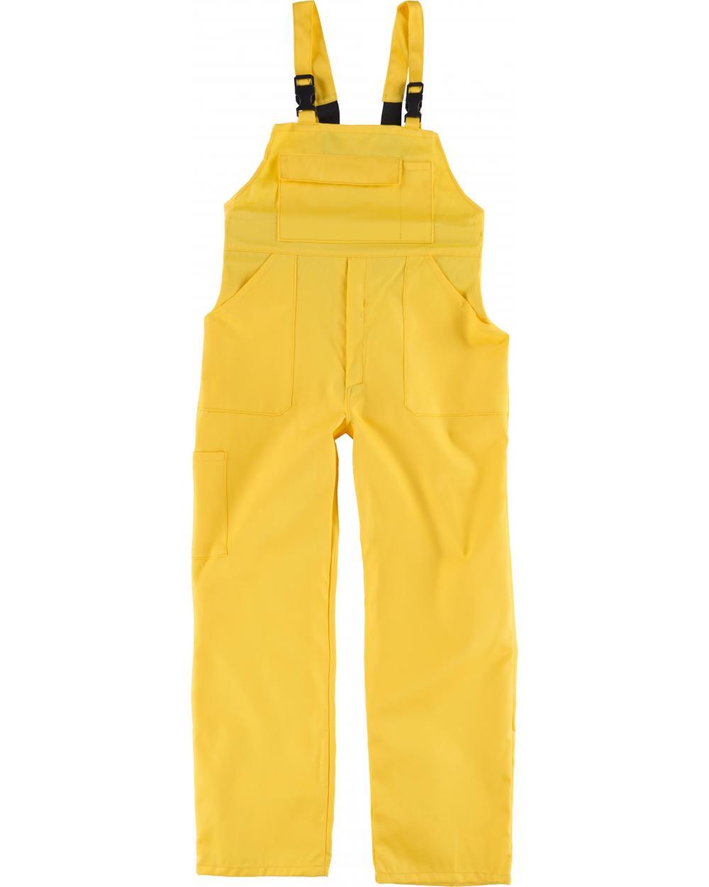 Comprar Peto de trabajo para niño B2701 Amarillo workteam delante