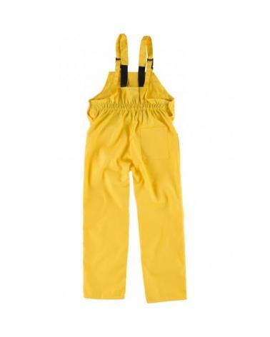 Peto de trabajo para niño B2701 Amarillo workteam atrás barato