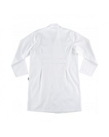 Bata unisex con velcro B3012 Blanco workteam atrás barato