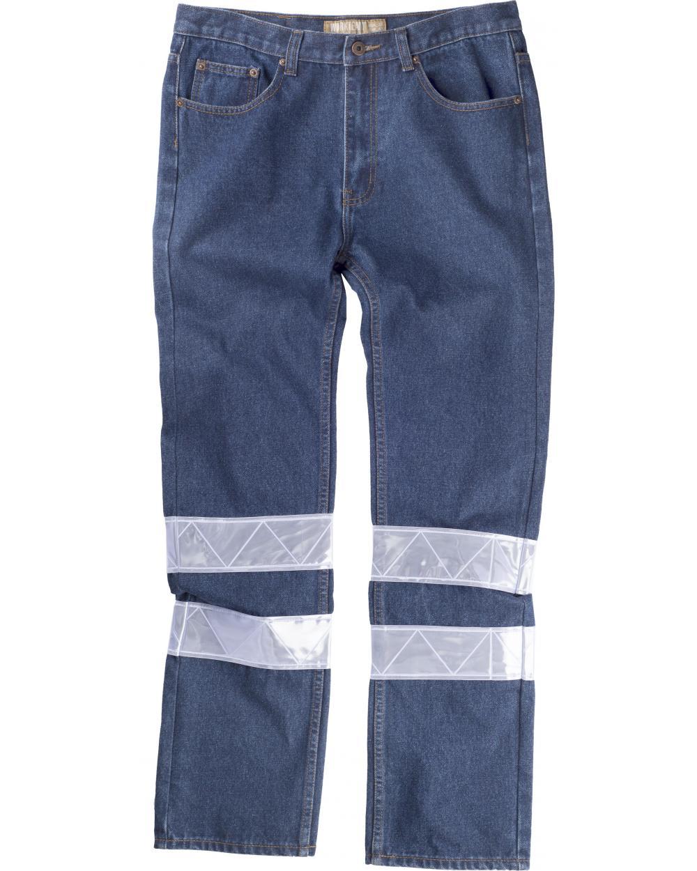 Comprar Pantalon vaquero B4007 Vaquero workteam delante