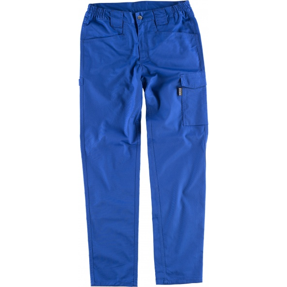Comprar Pantalon elastico B4030 Azulina workteam delante