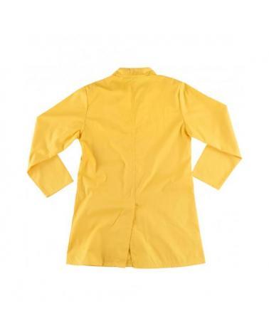 Bata unisex con corchetes B6700 Amarillo workteam atrás barato