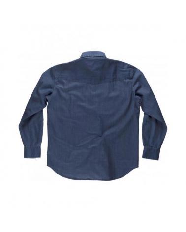 Camisa vaquera B8700 Vaquero workteam atrás barato