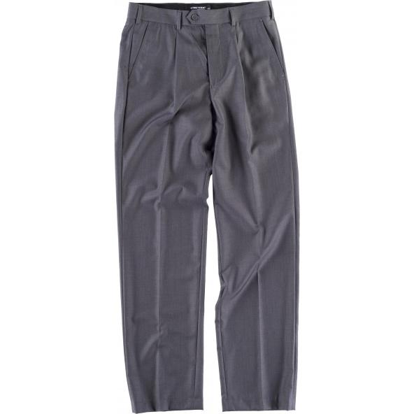 Comprar Pantalon camarero B9015 Gris workteam delante