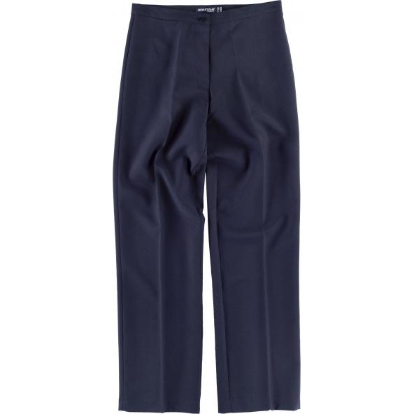 Comprar Pantalon camarera B9016 Marino workteam delante
