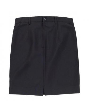 Comprar Falda de camarera B9018 Negro workteam delante