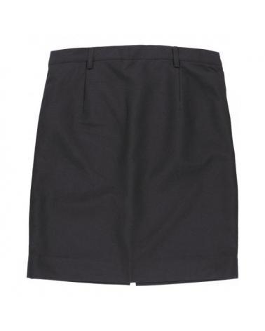 Falda de camarera B9018 Negro workteam atrás barato