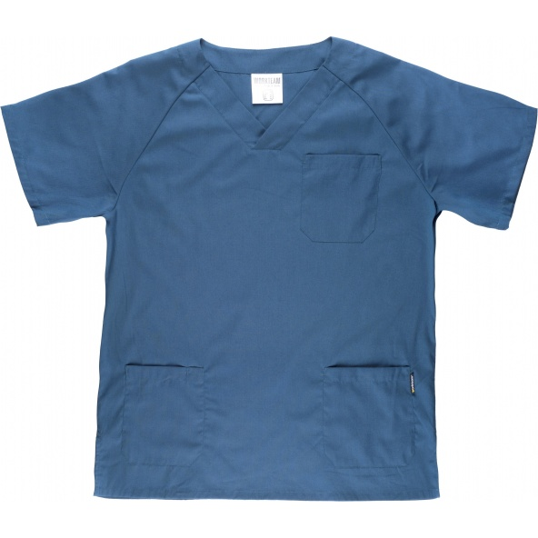 Comprar Conjunto pijama sanitario B9110 Azafata workteam camisa delante