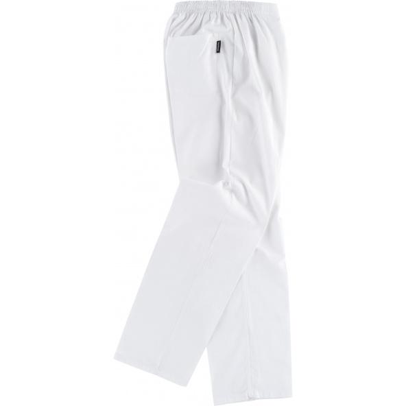 Comprar Pantalon sanitario unisex de algodon B9311 Blanco workteam barato