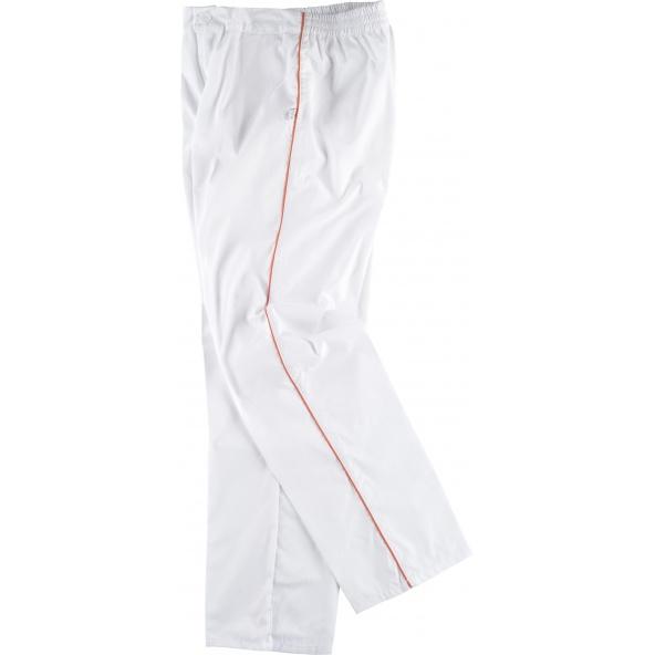 Comprar Pantalon de pijama sanitario unisex B9350 Blanco+Naranja workteam barato