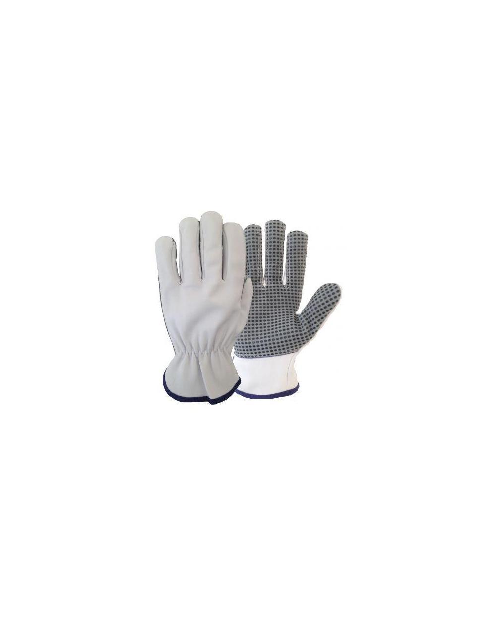 Guante piel cabra excelente confort 322DP - Pack de 12 pares