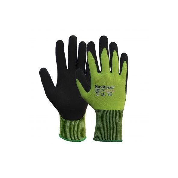 Comprar Guantes con latex natural rugoso acabado Sandy arenoso modelo Air - Pack de 12 pares