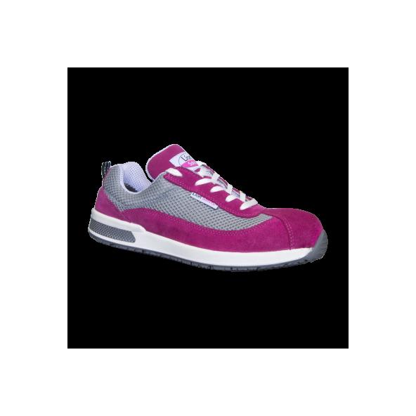 Comprar Zapatilla de seguridad color rosa fucsia seguridad Working Girl modelo Ana