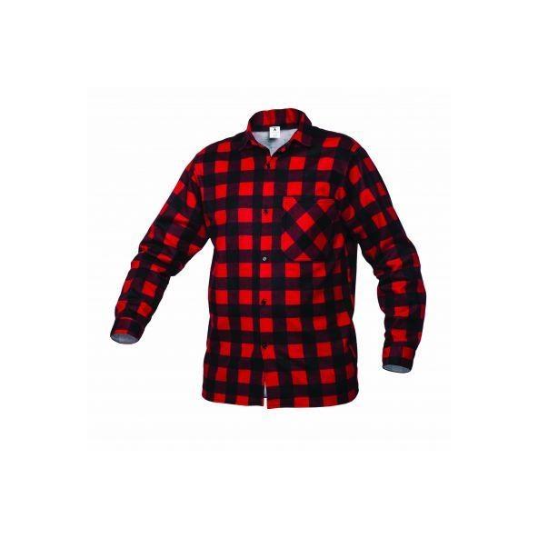 Comprar Camisa de franela Roja