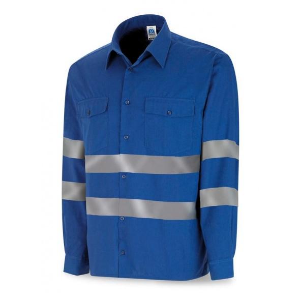 Comprar Camisa Algodón Con Bandas Reflectantes 388-Crml barato