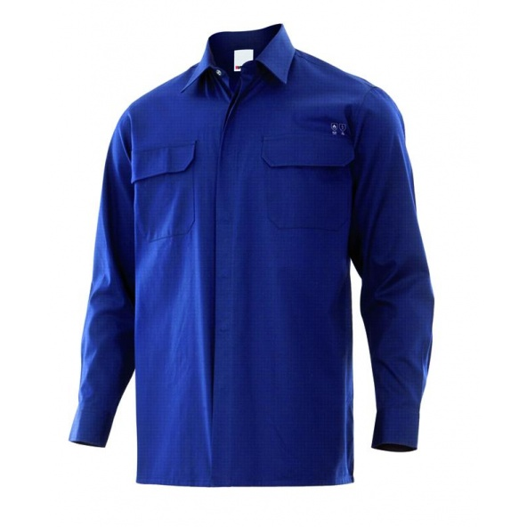 Comprar Camisa ignifuga y antiestatica serie 605001 online barato Azul Navy