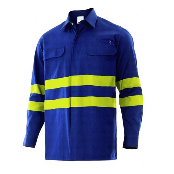 Comprar Camisa ignifuga y antiestatica serie 605002 online barato Azul Navy