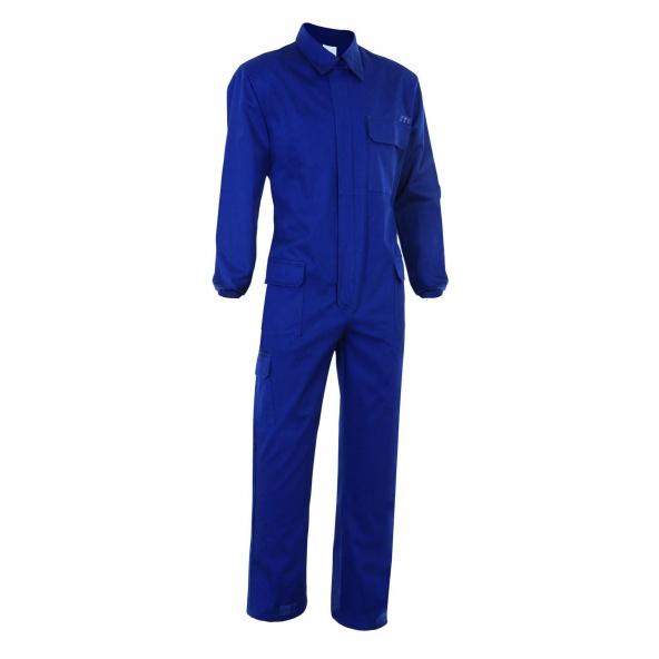 Comprar Mono ignifugo antiestatico serie 602003 online barato Azul Navy