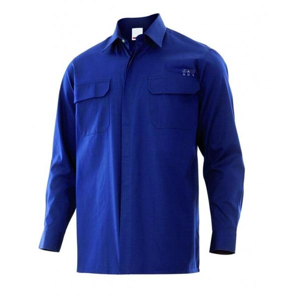 Comprar Camisa ignifuga antiestatica serie 605003 online barato Azul Navy