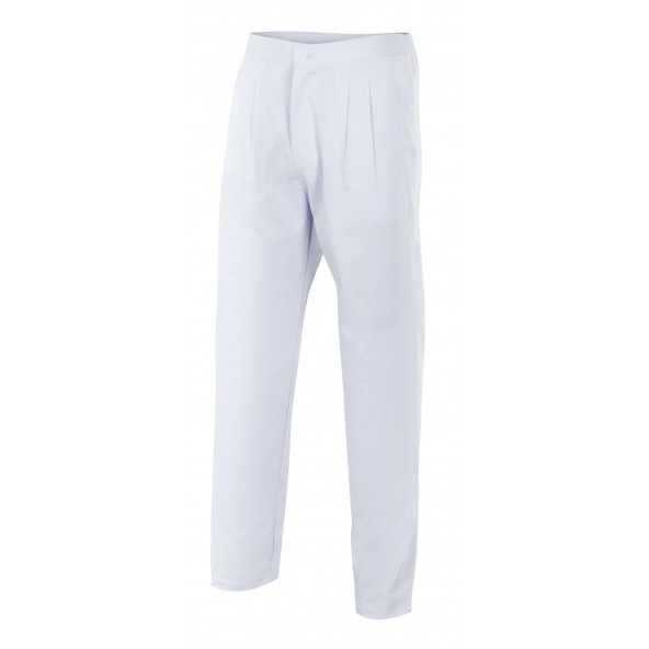 comprar pantalon blanco de pijama Velilla serie 337