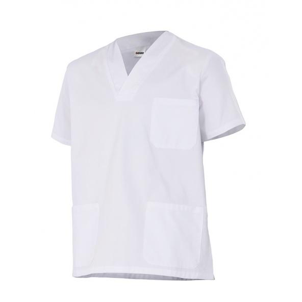 comprar casaca blanca de pijama sanitario Velilla serie 587