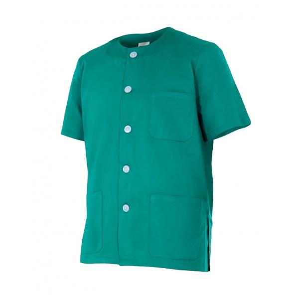 comprar casaca sanitaria cuello redodo Velilla serie 599