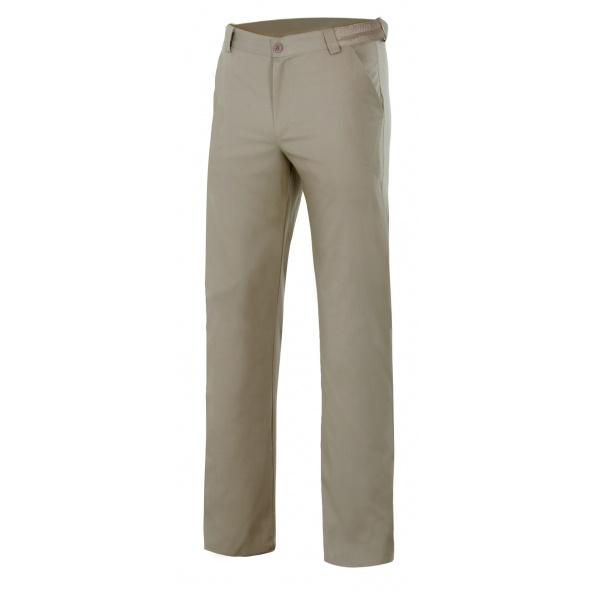 Comprar Pantalón chino stretch hombre serie 403004s online barato Beige Arena