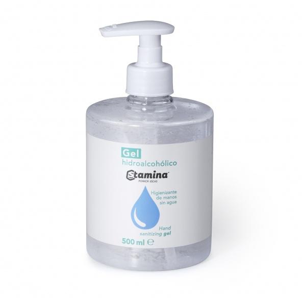 gel hidroalcoholico stamina 500ml con aplicador