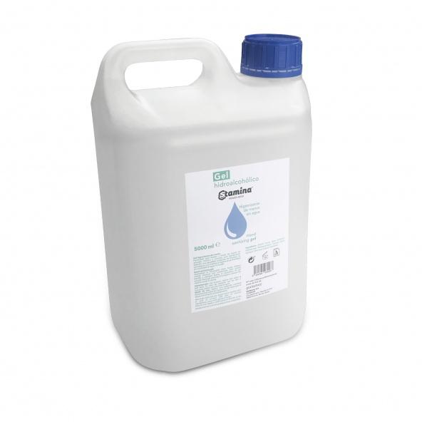 gel hidroalcoholico envase de 5 litros stamina