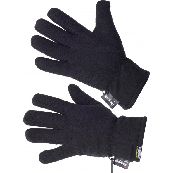 Comprar Guantes polares Thinsulate G0025 Negro workteam barato