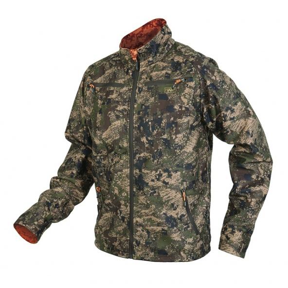 Compra soft shell Hart de camuflaje silencioso y reversible para caza mayor al acecho